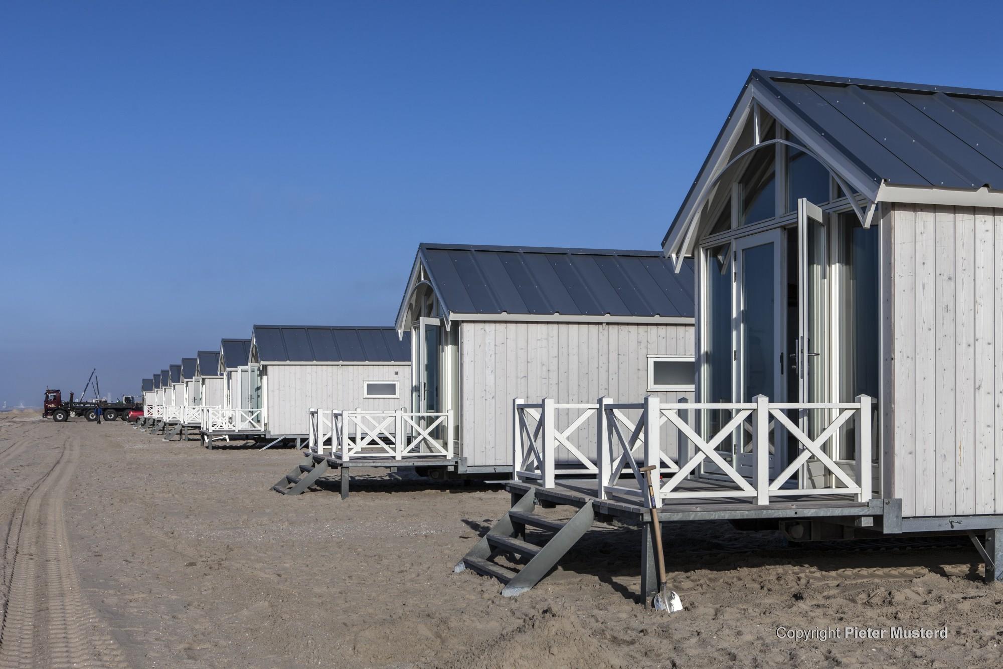 Inspraak strandhuisjes bij de Commissie Leefomgeving