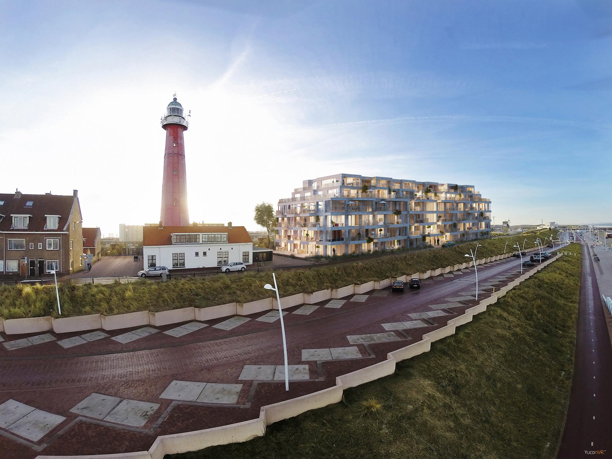 Het welstandsadvies over de nieuwbouw naast de vuurtoren - reactie van de Vrienden van Den Haag en het wijkoverleg Scheveningen Dorp